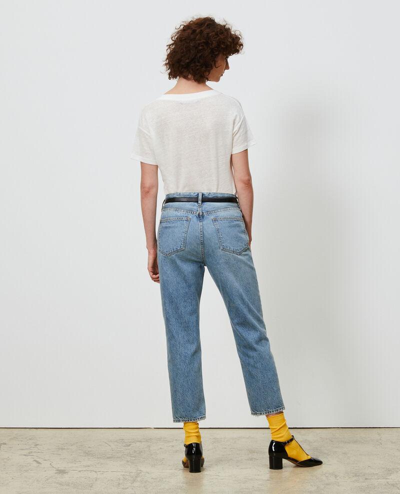 Jeans desteñidos 7/8 Vintage wash Neronage