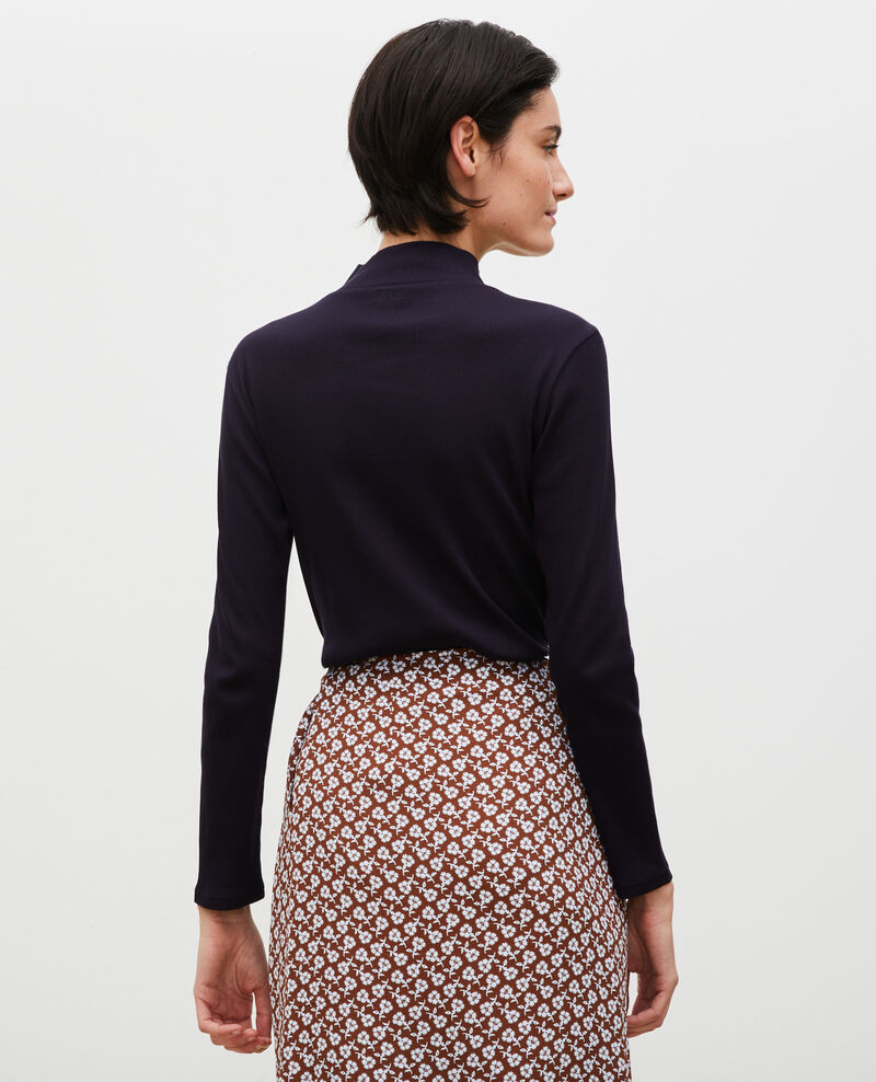 Jersey manga larga de algodón stretch Night sky Marval