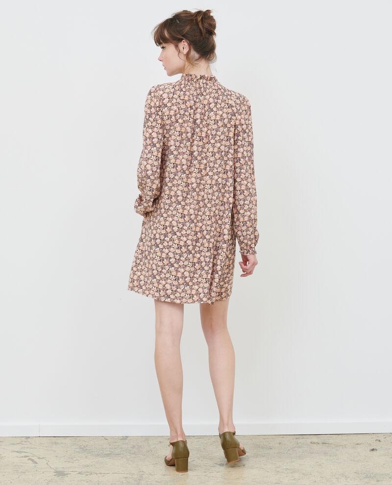 Vestido corto con fruncidos Art deco gold Poisson