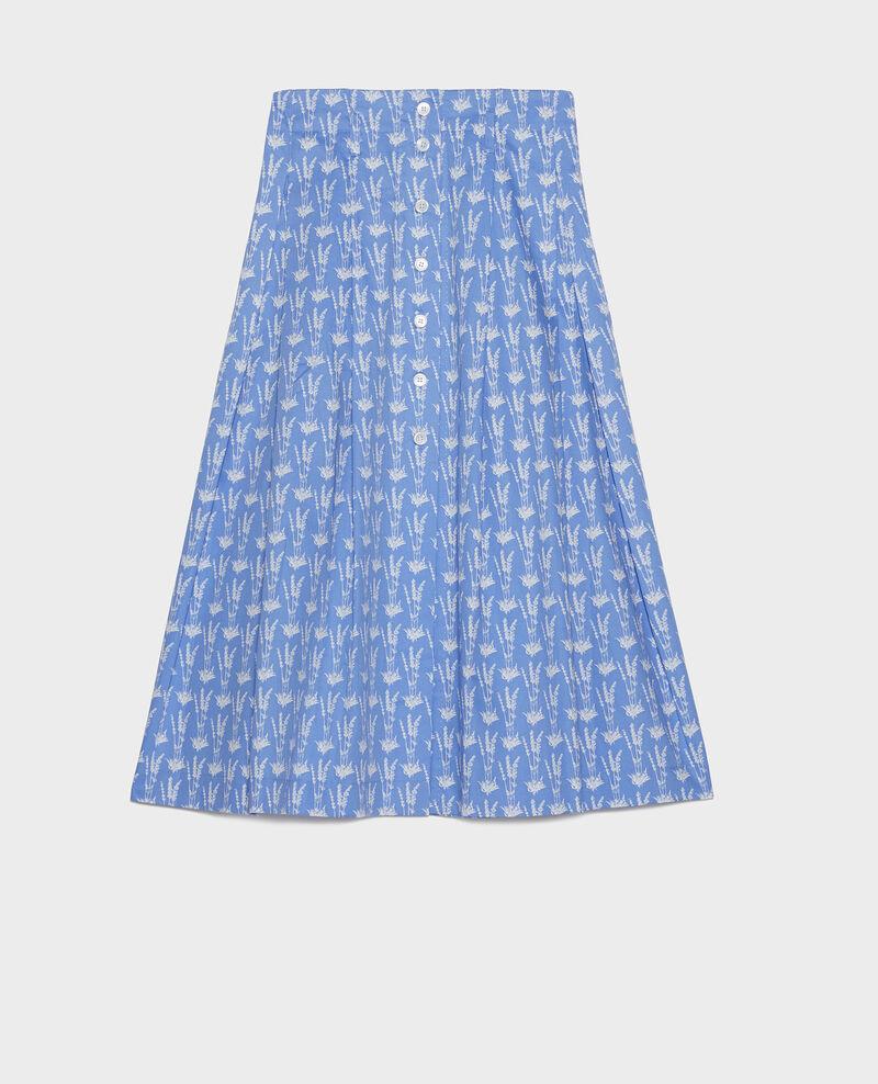 Falda de algodón Moyen lavande persian jewel Louverot