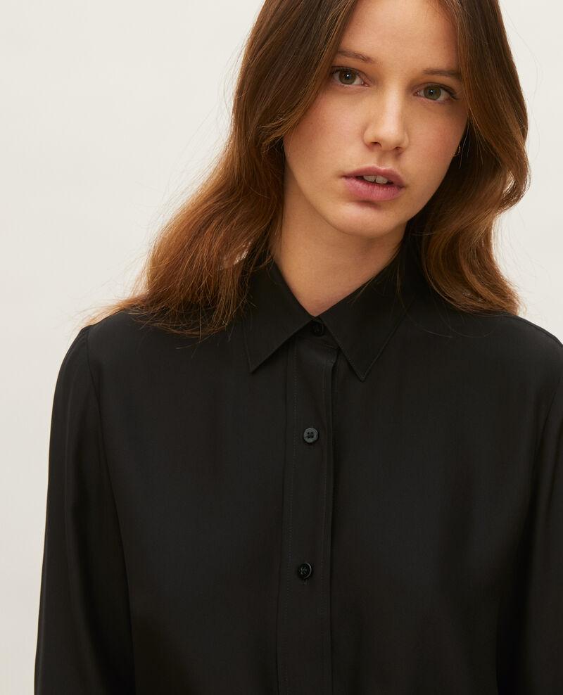 Camisa de seda Black beauty Loriges