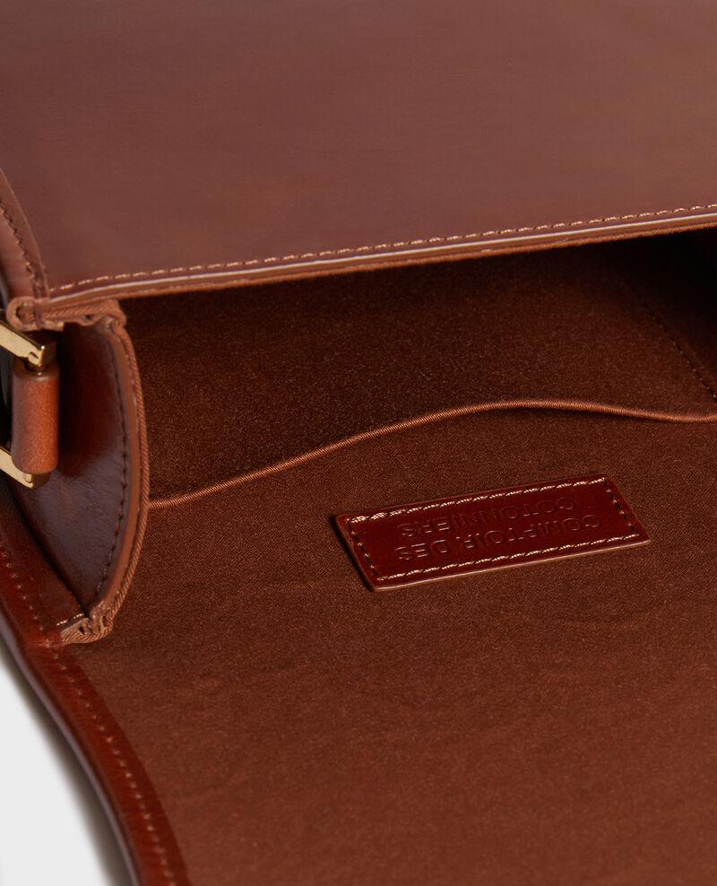 Bolso pequeño de cuero estilo vintage Pumpkin spice Neveu