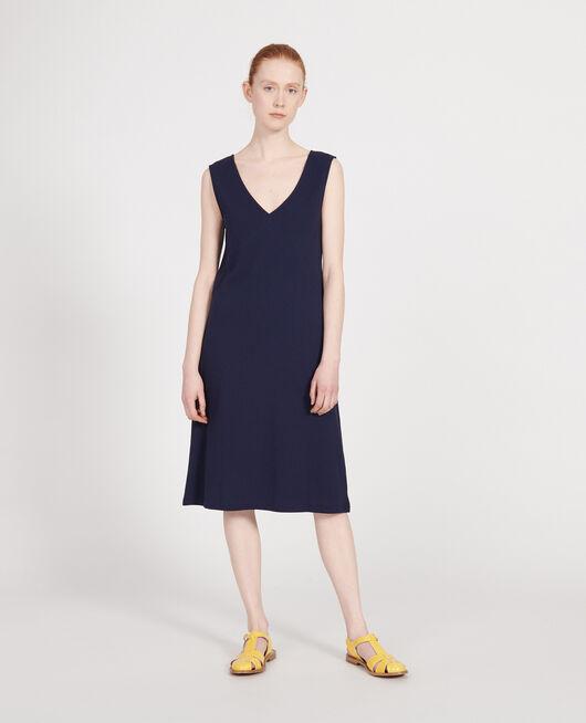 Vestido de algodón MARITIME BLUE