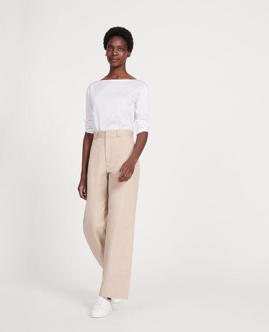 Camiseta de algodón OPTICAL WHITE