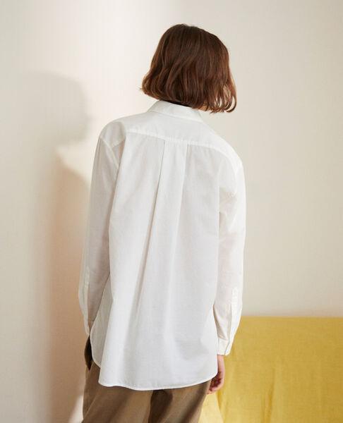 Comptoir des Cotonniers - Camisa atemporal de algodón Blanc - 3