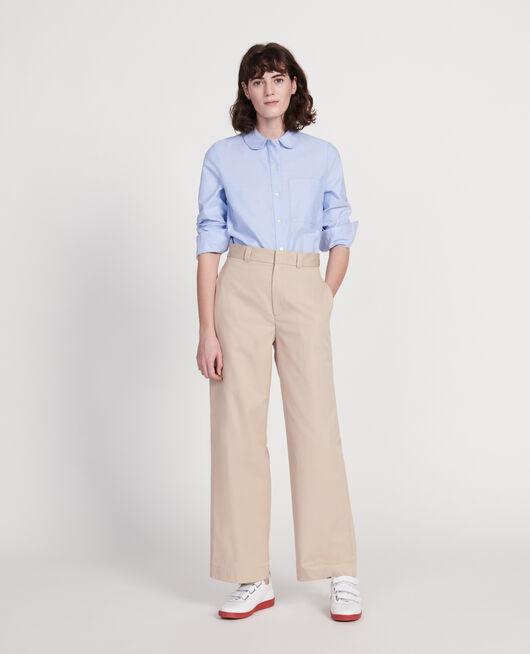 Camisa de algodón  CHAMBRAY BLUE