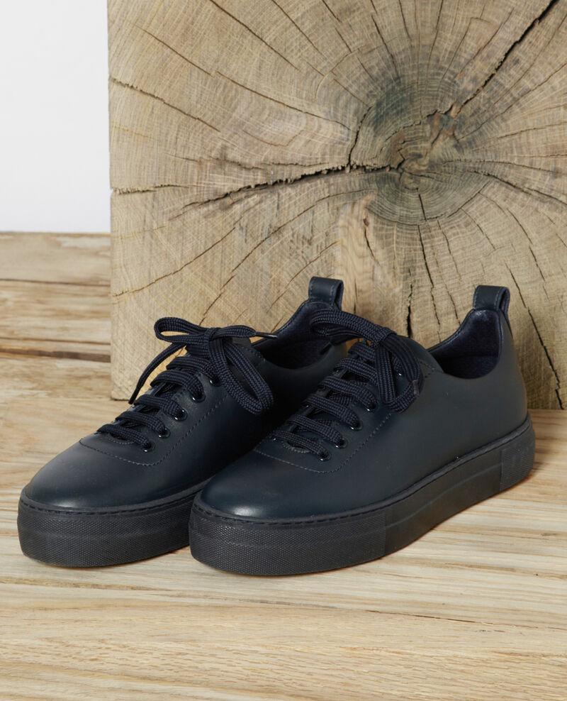 Sneakers con plataforma Peacoat Gina