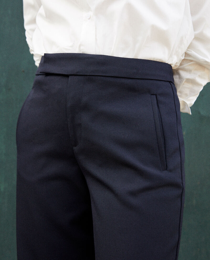Pantalón de corte recto Dark navy Joubert