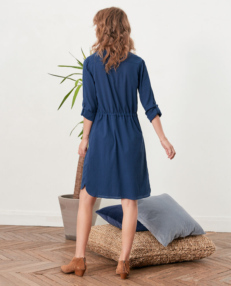 Vestido tipo túnica Indigo Feographie