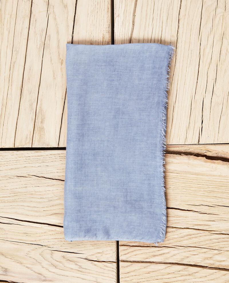 Fular Bleu Idenoma