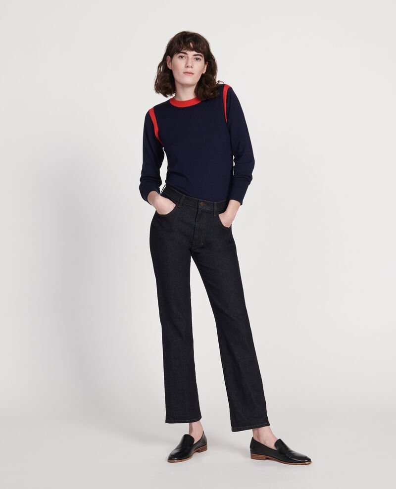 Jeans rectos Denim rinse Linnea
