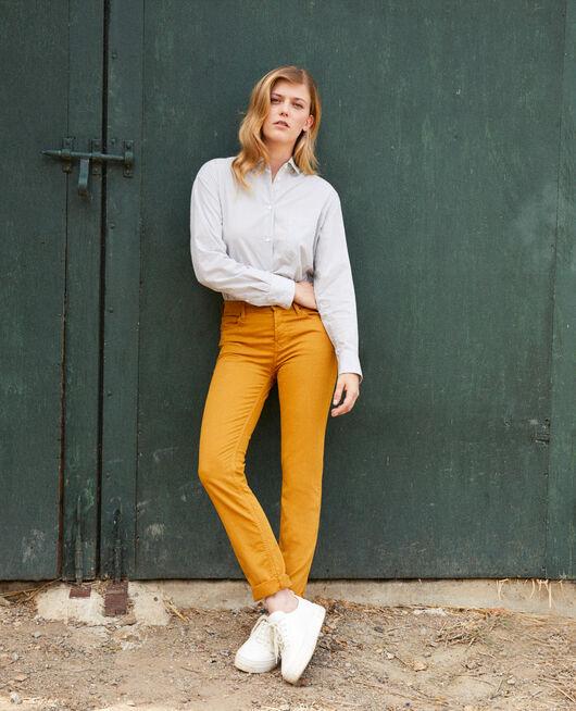Jeans corte slim GOLDEN BROWN