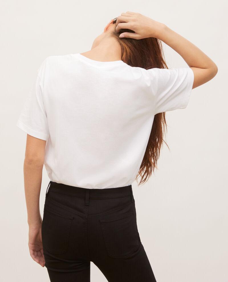Camiseta amplio de algodón manga corta Dark green Masny