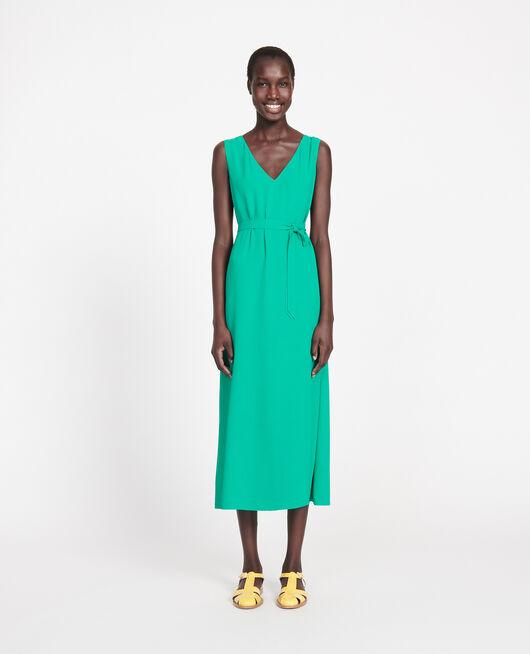 Vestido fluido GOLF GREEN