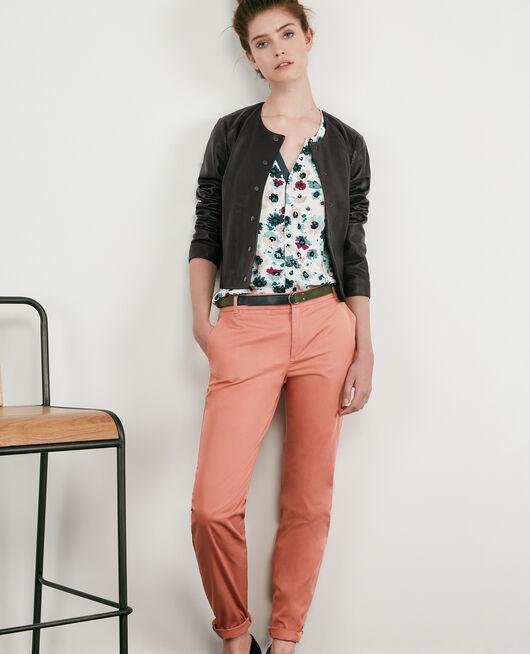 Pantalones chinos ROSE CLAY