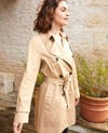 Trench atemporal Safari beige Isore