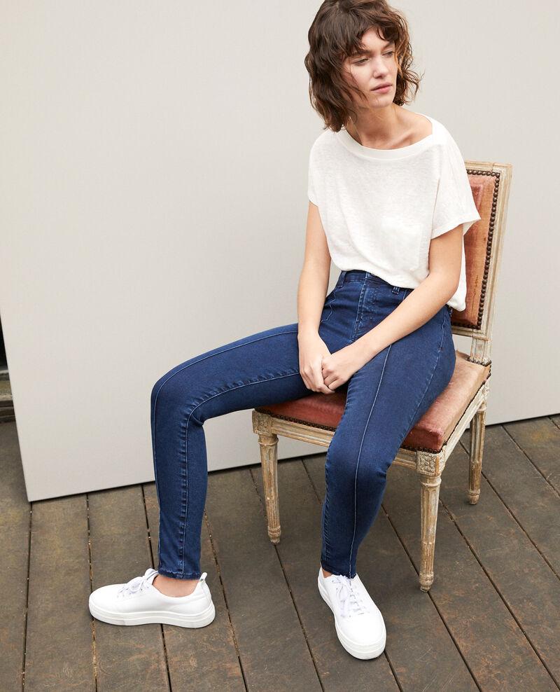 Jeans skinny cropped 7/8 Azul Girondine