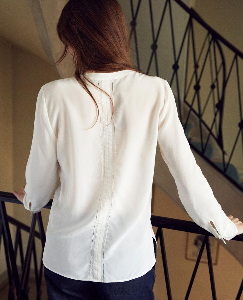 Blusa de seda Coconut milk Japristi