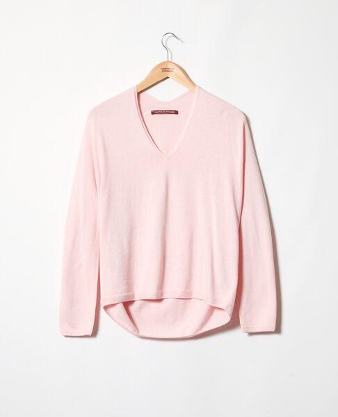 Comptoir des Cotonniers - Jersey con cachemir Pink icing - 2