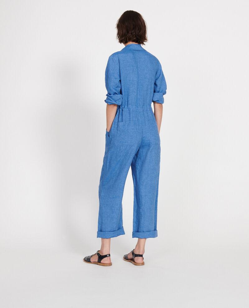 Mono pantalón de lino Indigo Lachassain