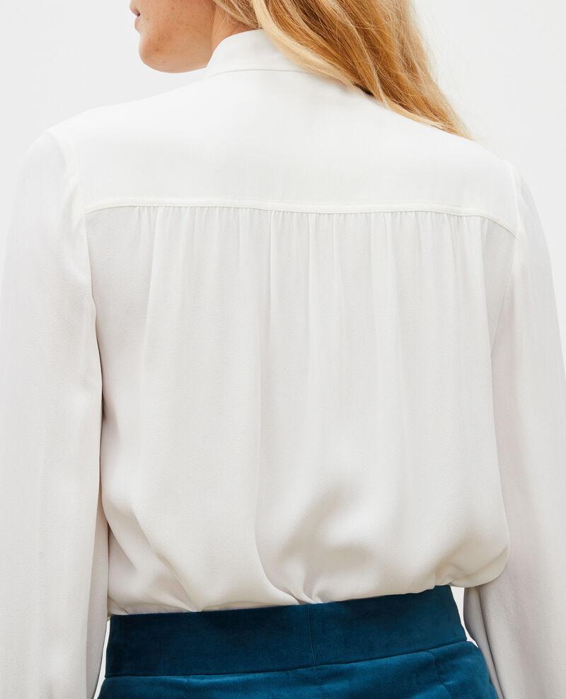 Camisa de manga larga con cuello atado  Jet stream Meyrala