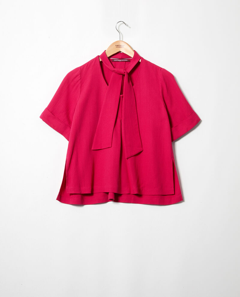 Blusa con tira desmontable Fushia Ipex