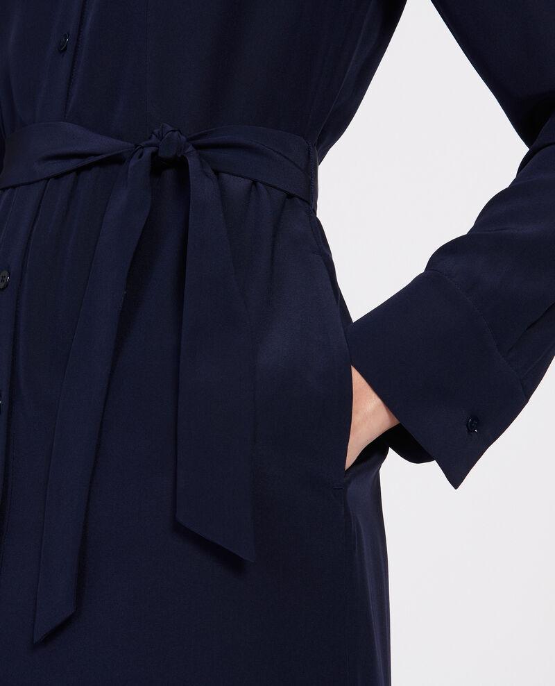 Vestido fluido de longitud media Maritime blue Lolita