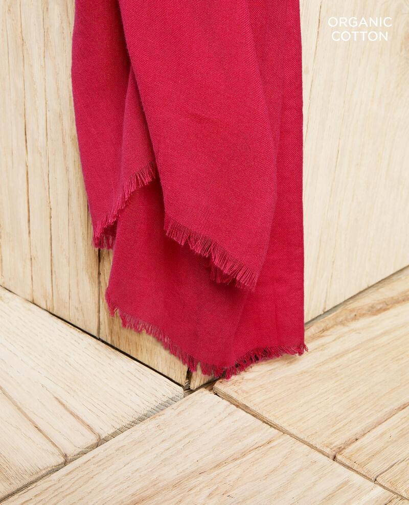 Fular de algodón orgánico Fushia Geste