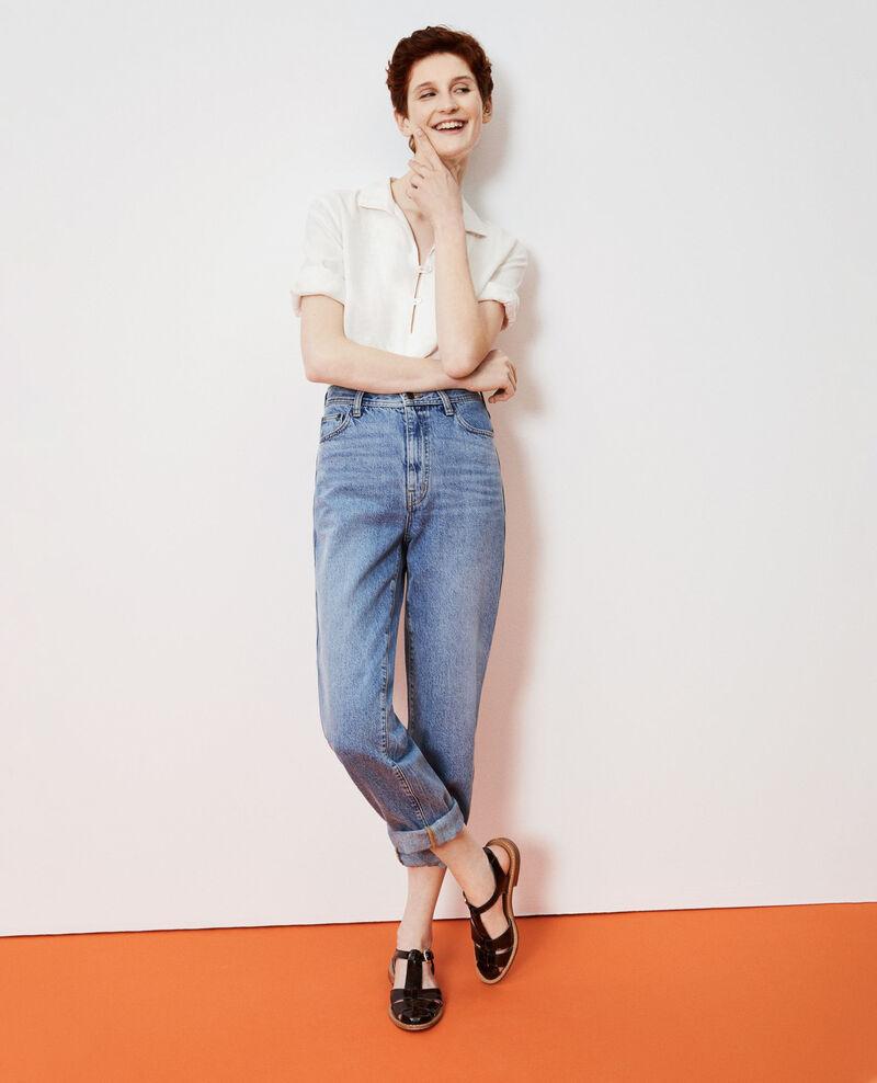 REGULAR - Jeans amplios de talle alto Vintage wash Nastage