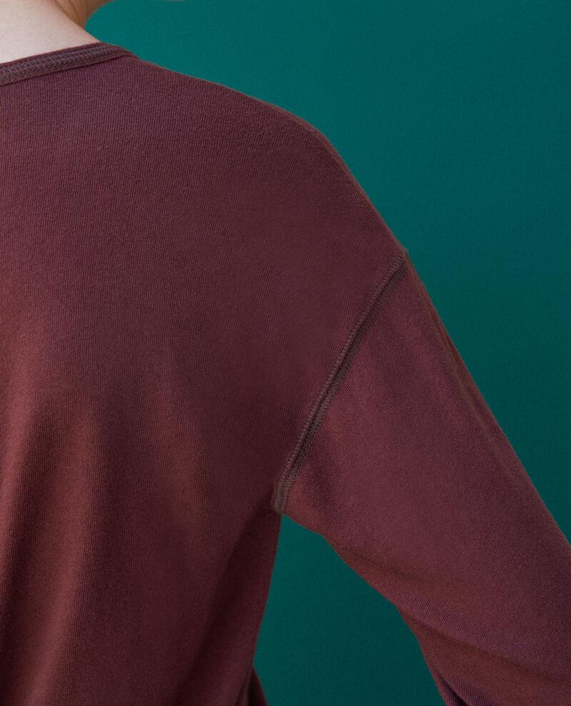 Camiseta de algodón Decadente chocolate Gonia