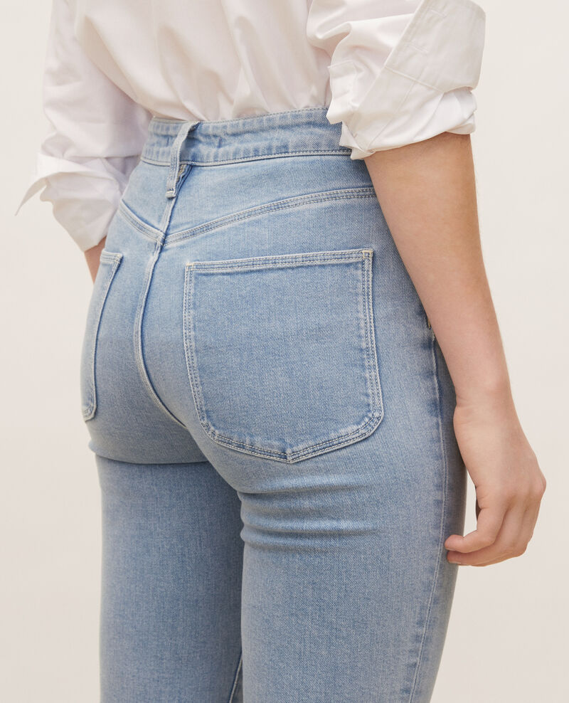 SLIM HIGH RISE - Jeans vintage wash Denim vintage wash Linxe