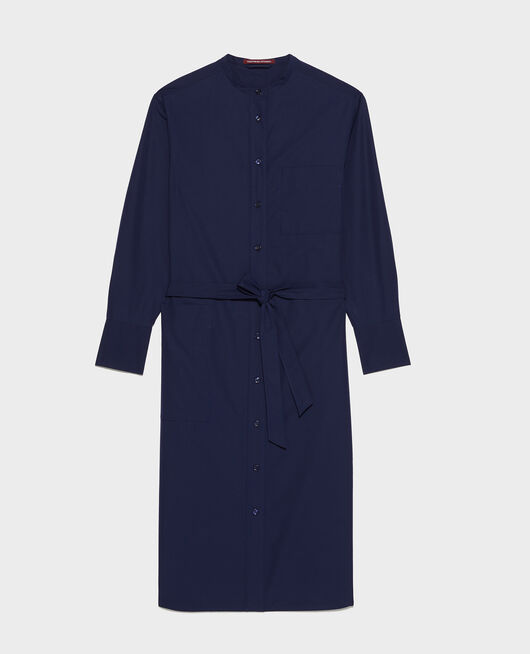 Vestido largo oversize MARITIME BLUE