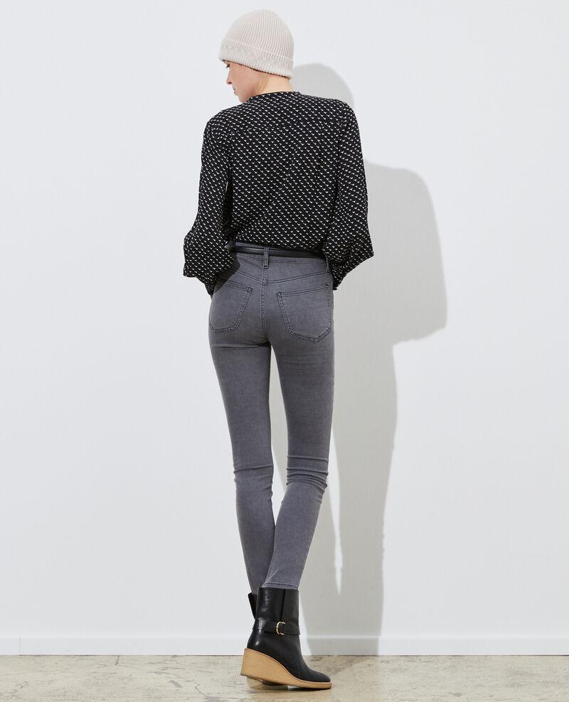 DANI - SKINNY - Jeans 5 bolsillos Dark grey Paugrey