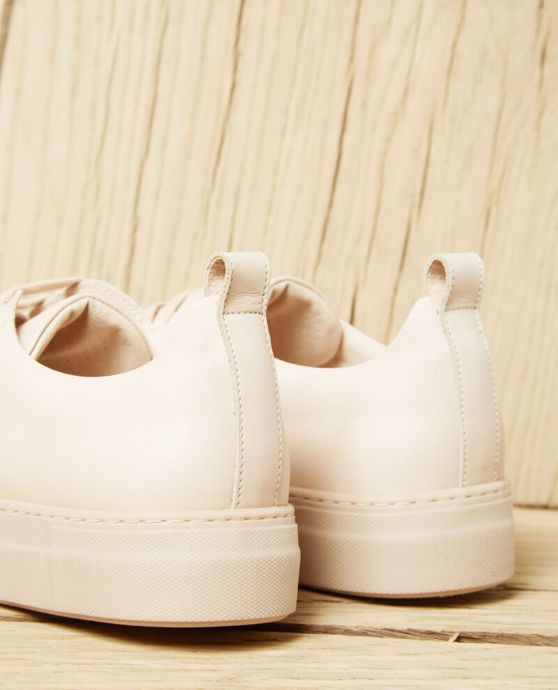 Sneakers con plataforma Beige Iginas