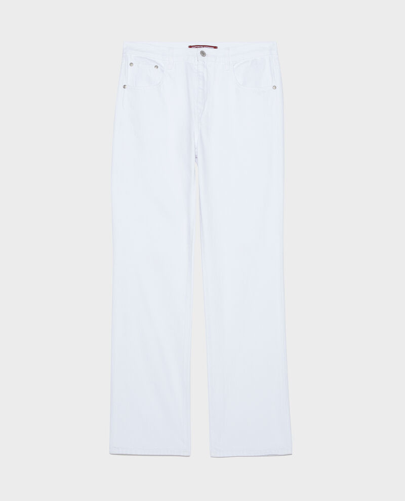 Jeans rectos Optical white Linny