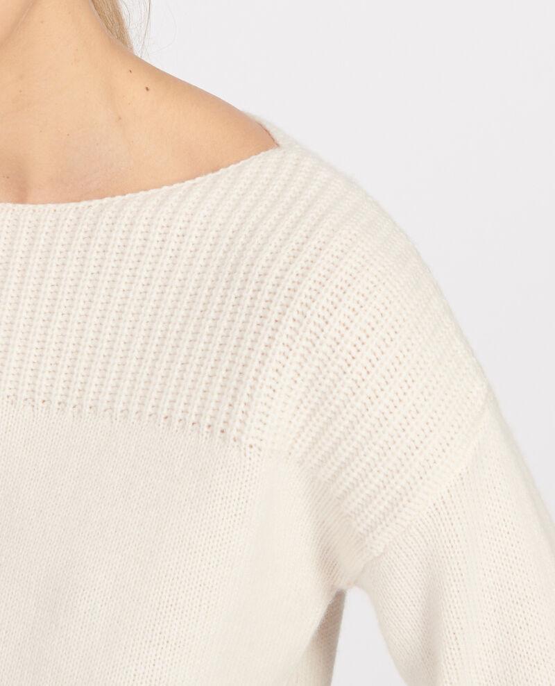 Jersey de lana y cachemir Buttercream Lalane