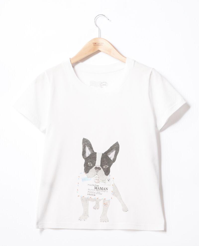 Camiseta Léon Off white Flippo