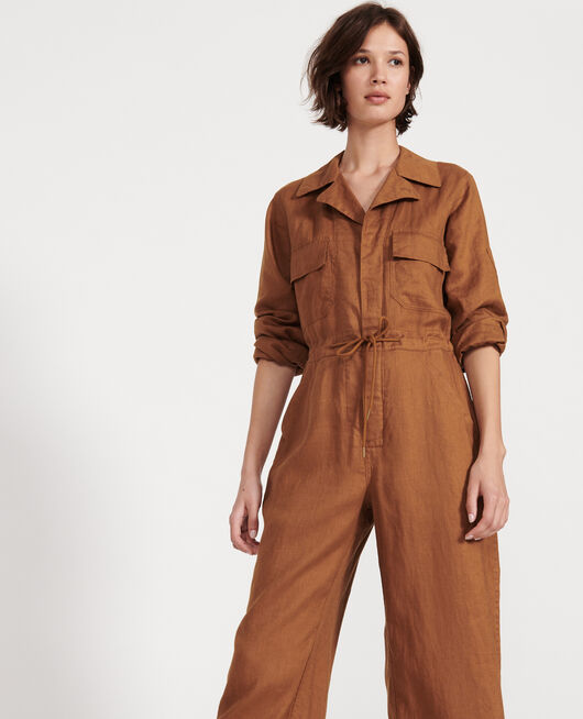 Mono pantalón de lino MONKS ROBE