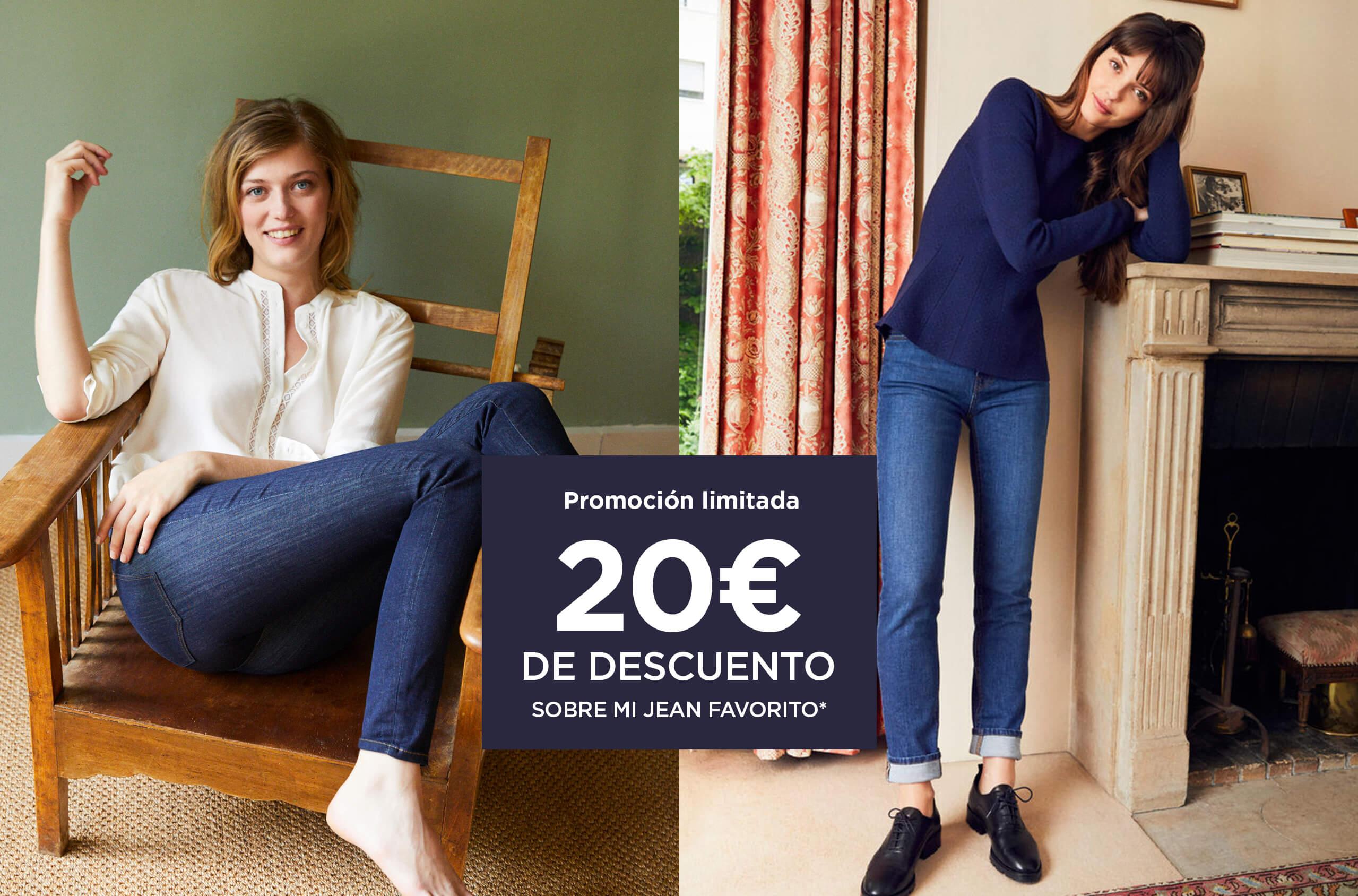 20€ de descuento sobre mi jean favorito