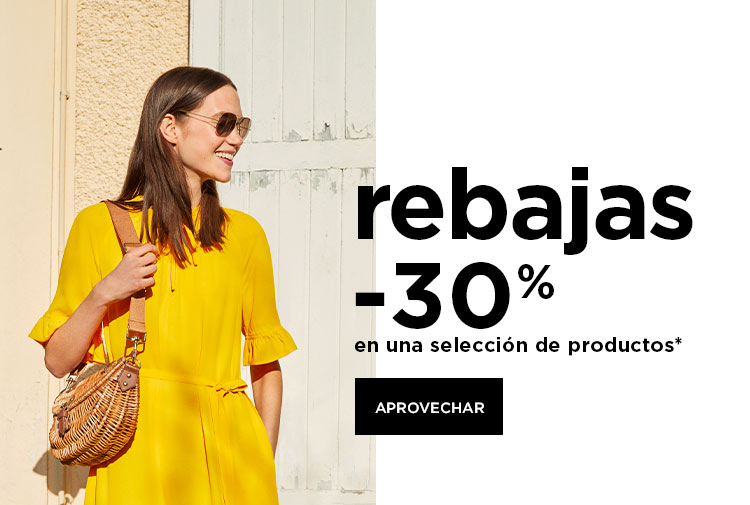 Sale : -30% en una selección de productos* - Mobile