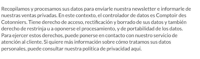 Politique de protection des données personnelles