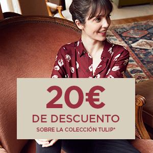 20€ de descuento sobre la colección Tulip