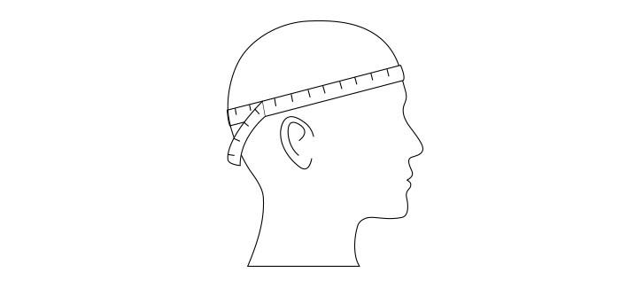 Guía de tallas para mujeres - Sombreros y Gorras