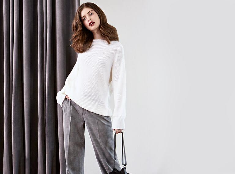 Look - Jersey de lana y alpaca, Pantalón