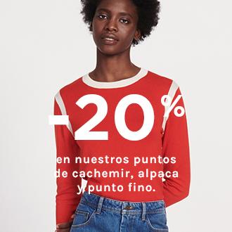 -20 % en nuestros puntos
