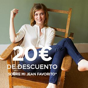 20€ de descuento sobre mi jean favorito!