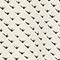 Minifalda de patinadora estampada Birdy ivoire Pitite