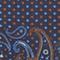 Pañuelo de seda estampado Night sky Pachemire