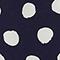 Vestido recto y fluido Dots maritime blue Legrais