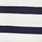 Jersey rayado de lana Off white/navy Ibateau